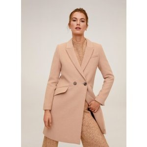 MangoLapels wool coat - Women | Mango USA