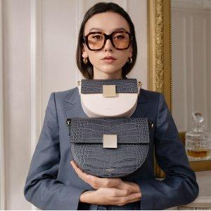 低至6折! 经典OSLO包包收起来DeMellier 轻奢包包热卖 优雅设计不撞包 梅根王妃也爱!