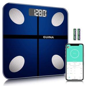 Guina 蓝牙体脂体重秤 可连手机APP追踪数据