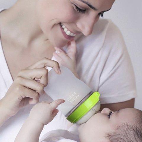 As low as $6.99Amazon Comotomo Baby Bottles