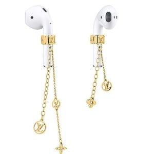 盘点各大奢侈品牌耳机周边Louis Vuitton Airpods 耳机链 即将发售 预计售价USD$350