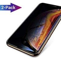 AINOPE iPhone X Xs 钢化玻璃隐私保护膜 2个装