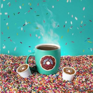 $7 Each When You Buy 2Black Friday Sale Live: The Original Donut Shop Regular Medium Roast Coffee - Keurig K-Cup Pods - 18ct