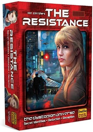 Indie Boards and Cards The Resistance (The Dystopian Universe)