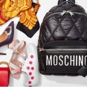 低至4.5折 MCM双肩包$309Moschino、MCM 美包鞋履及配饰热卖