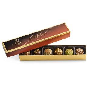 6颗坚果松露巧克力