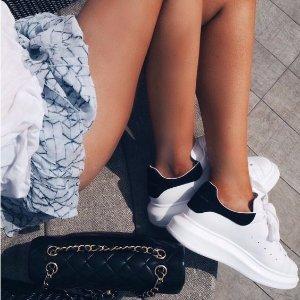 低至5折+额外8折Alexander McQueen 美鞋美包热卖 收骷颅丝巾、小白鞋
