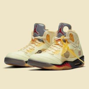 收藏本帖 收获第一手发售资讯预告:Air Jordan 5 x Off-White™