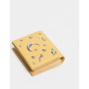 Charles & KeithYellow Embellished Card Holder | CHARLES & KEITH US