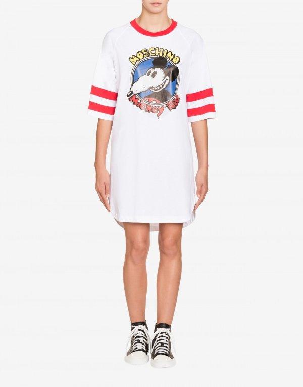 Mickey Rat cotton 长款T恤