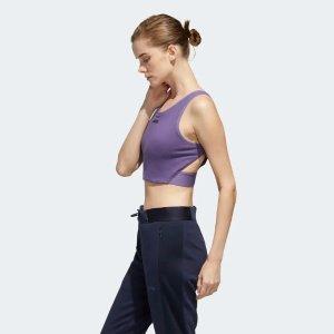 Adidas香芋紫上衣