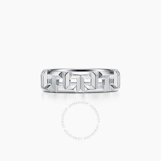 Tiffany True Wide Ring 18k 白金戒