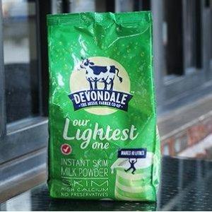 直邮中国¥62 + 立减AU$5史低价:澳洲直邮 Devondale 德运 脱脂高钙成人奶粉 1kg 儿童/学生/成人/老年人