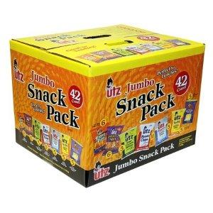 UtzVariety Snacks Pack, 42 Ct
