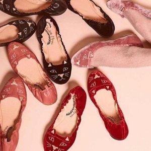 低至6.7折 经典猫头鞋补货回归Charlotte Olympia 年终大促开启 可爱喵星人美鞋萌度爆表