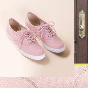 额外8折+免邮闪购:Keds 折扣区美鞋特卖