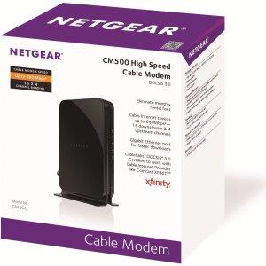 $43.88 包邮NETGEAR CM500 680Mbps DOCSIS 3.0 调制解调器