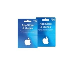 App Store & iTunes gift cards s礼卡热卖