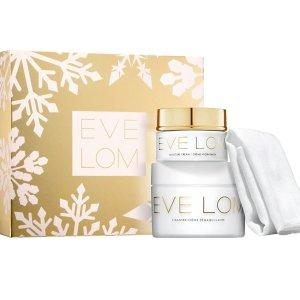 仅£65(价值£195)逆天价:Eve Lom官网 卸妆膏200ml+亮肤面霜50ml套装史低