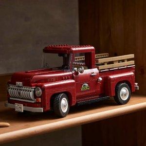定价€129 10月1日发售新品:LEGO皮卡车系列套装曝光 复古皮卡 & 福特猛禽F-150