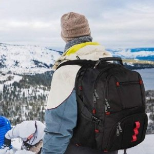 低至7折,$39起Yorepek 旅行笔记本背包 超大空间 外置USB口