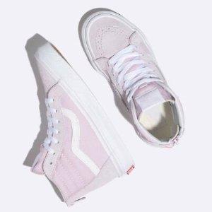VANS SK8-Hi Zip Lavender Fog & True White Girls Shoes