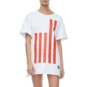 GOODIES FLAG TEE | WHITE001