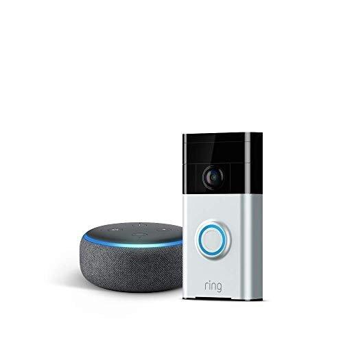 Video Doorbell+ 3代Echo Dot 银色