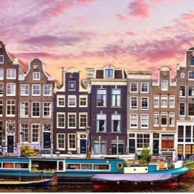£99起 往返机票酒店 含早餐阿姆斯特丹自由行 2-3晚体验漂浮船屋