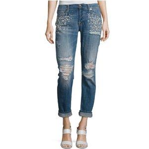 低至3.5折 $48起Neiman Marcus 精选7 For All Mankind 牛仔裤、美衣热卖