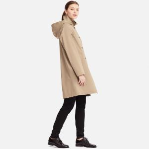 $99.9(原价$129.9)3色可选Uniqlo优衣库 U系列长裤风衣 防风防水