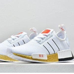 $76.49(原价$140)+免邮Champs Sports官网 adidas Originals NMD R1男鞋好价收