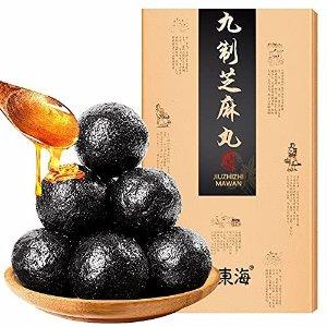 九制黑芝麻蜜丸子蜂蜜丸礼盒装