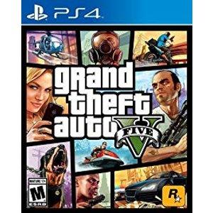 $15 (原价$59.99)《侠盗猎车手5》PS4 实体版游戏