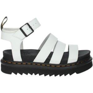 Dr Martens白色凉鞋