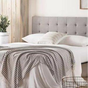 多色软包床靠板