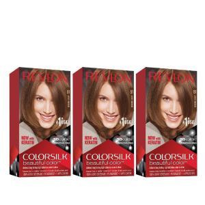 $2.68(原价$14.99)露华浓染发膏3件装 热卖