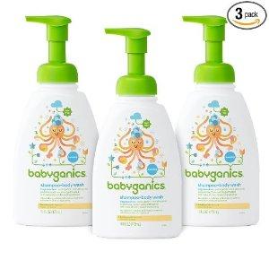宝宝洗发水沐浴露无香型,3瓶装