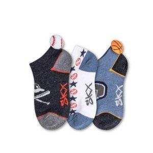 男童 短袜3双装