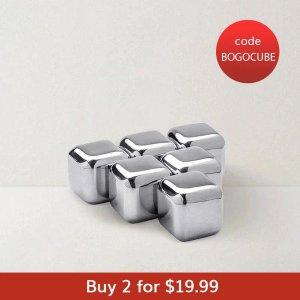 LIFEASE需使用折扣码 BOGOCUBE不锈钢玻璃粒 2件