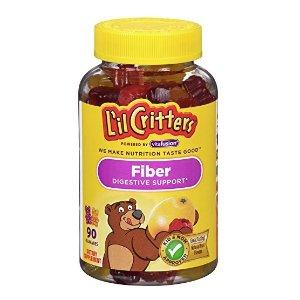 $3.36 白菜价凑单囤货史低价:L'il Critters 小熊纤维软糖 90颗
