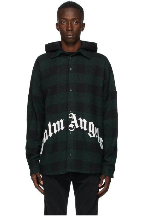 Green & Black 外套