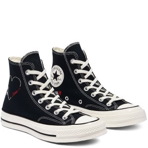 Converse封面爆款!情人节限定Chuck 70高帮鞋-深蓝