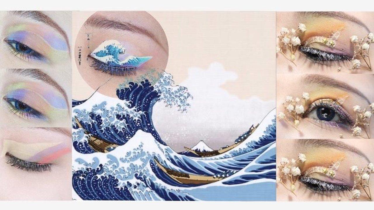 浮世繪眼妝集美|創意眼妝六月合集