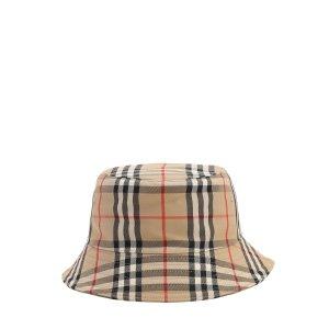 Burberry格纹帽