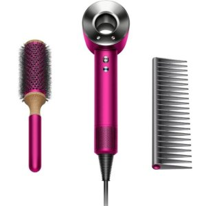 Dyson- Supersonic Hair Dryer - Limited Edition Gift Set - Fuchsia/Nickel