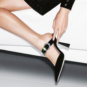 低至5折 £401收渐变亮片RomyJimmy Choo 女神鞋 精选美鞋好价收 你的职场必备