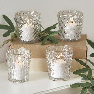 $17.99入手工玻璃烛杯4件套Ballard Designs 多款家居用品清仓热卖 低至 $7.99