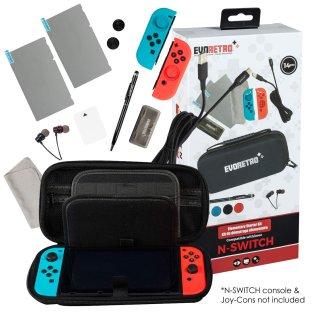 $19.95(原价$29.99)史低价:Switch 14合1配件大礼包 甚至还有一副耳机