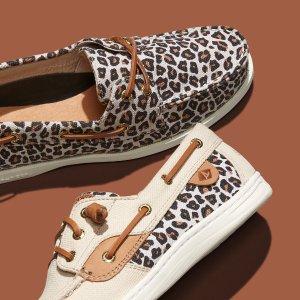 一律$49.99+免邮Sperry 精选鞋履限时特卖 好价收皮面一脚蹬